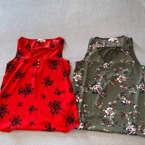 Floral Tops 2 for 20